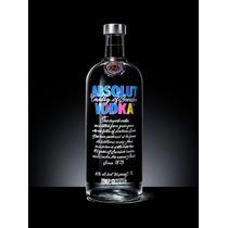 Nova Vodka Absolut Andy Warhol - Ed. Limitada 1 Litro