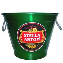 Balde Para Gelo Em Aluminio Cerveja Stella Artois
