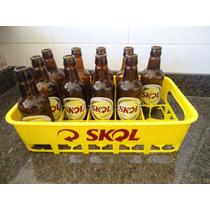 Caixa Engradado Cerveja Ambev Para Garrafas 300 Ml(15 Vasilh