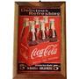 Quadro Coca Cola Para Decoração De Bares E Churrasqueiras