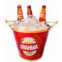 Balde Para Gelo Bebidas Cerveja Brahma Antarctica Sub Zero
