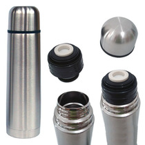 Garrafa Térmica 1 Litro Aço Inox Vacuum Inquebrável C/ Bolsa