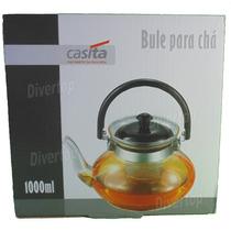 Bule Para Chá De Vidro - 1 Litro - Marca Casita