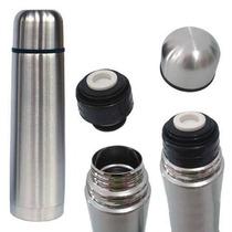 Garrafa Térmica Inox 1 Litro Inquebrável Com Capa - Café Chá