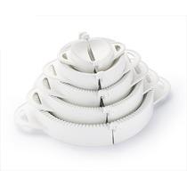 Forma Pastel Risoli Salgados Kit Modelador Massas 4 Formas