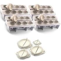 Kit Forma Fábrica Coxinhas E Salgados- Modelador 32 Coxinhas