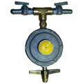 Registro Regulador De Gás 2 Saídas 2kg/h Aliança 506/01