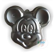 Forma Para Bolo Em Alumínio Mickey Mouse 26cm Festa Criativa