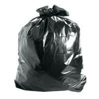 Saco De Lixo Preto 30 Litros - 100 Sacos / Frete Grátis