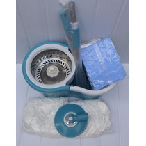 Cesto Spin Mop And Go Disco Inox Cabo Maior Pro Toalha Magic