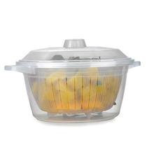 Panela A Vapor Para Cozinhar Legumes No Micro-ondas Legumix