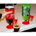 Dispenser Suporte Torneira Refrigerante Fizz Saver Abaixou