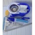 Big Kit Spin Mop Cesto Inox 02 Refis + Rodo Mágico, And Go,