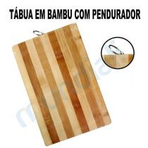 Tabua Para Cortar Carne Em Bambu 24 Cm X 34 Cm Cozinha