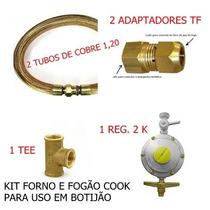 Mangueira Para Gás - Kit Completo Cook + Forno E No Botijão