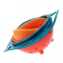 Pote Bebê Giratório 360°- Prato Gyro Bowl- A Comida Não Cai
