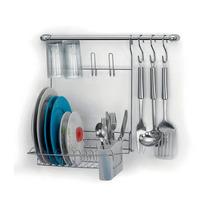 Kit Suporte Escorredor Cook Home Arthi 06pçs