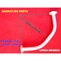 Barra Acessibilidade Rio Preto P/ Pia Lavotorio De Canto