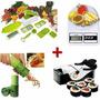 Máquina Enrolar Sushi + Nicer Dicer + Descascador + Balanca