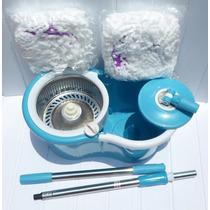 Spin Mop 360 Pro Inox Centrifugador Esfregão 360º + 2 Refil
