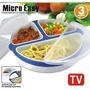 Micro Easy -recipiente Para Alimentos - Microondas -marmitex