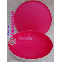 Tupperware Saladeira Allegra 3,5litros/ Tigela, Travessa,kit