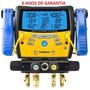 Manifold Digital 4 Vias Com Vacuômetro Fieldpiece Sman460