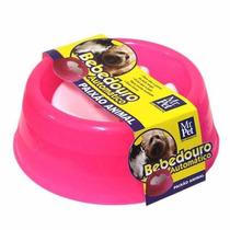 Mr.pet - Bebedouro Automático Com Bóia 1000ml - Rosa