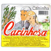 Rótulo De Cachaça, Aguardente, Pinga Carinhosa - A1c1