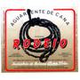 Rótulo De Cachaça, Aguardente, Pinga Rodeio - A1c1