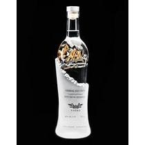 Vodka Signature Canadense Fundo Garrafa Simbolo Maconaria