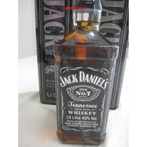 Wisky Jack Daniels 1 Litro Na Lata , Original Leia O Anuncio