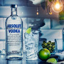 Vodka Absolut 40% 1 Litro Original