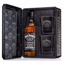 Kit Jack Daniels Old N7 Com Copo *imp Usa Frete Gratis 750ml