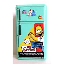 Lata Em Formado De Geladeira Homer Simpson Decorativa
