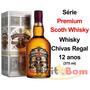 Whisky Chivas Regal 12 Anos - Série - Premium Scoth 375ml.