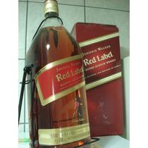 Whisky Red Label 4,5 Litros 4500 Ml.