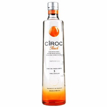 Vodka Ciroc Peach Original 750ml - Sabor Pêssego