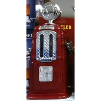 Dispenser Bomba De Gasolina Porta Bebidas Vintage