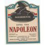 Rotulo Antigo - Aguardente Extra Fina Napoleon