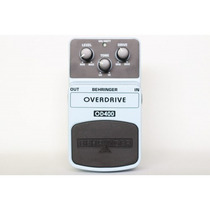 Pedal Behringer Overdrive Od-400 Wgmusicstore