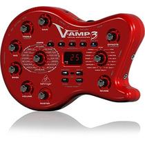 Pedaleira Multiefeitos Behringer V-amp 3 Uca222 P/ Guitarra