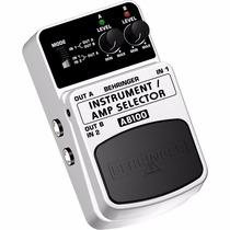 Pedal Behringer Ab100 Amp Selector/ Instrument