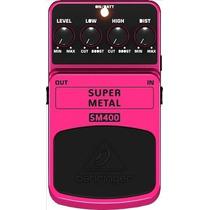 Pedal Behringer Sm400 P/ Guitarra Super Metal Sm 400 Metal