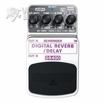 Pedal Behringer Dr400 Digital Reverb Garantia Nota Fiscal