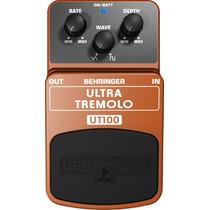 Pedal Ultra Tremolo Ut100 Behringer Ñ Boss Marshall Fender