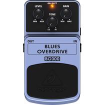 Bo300: Pedal Blues Overdrive Bo 300 Behringer Frete Grátis!!