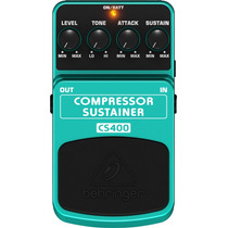 Pedal Behringer Compressor/sustainer Cs400