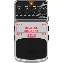 Pedal Behringer Digital Multi-fx Fx600
