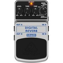 Behringer Dr600 Pedal Para Guitarra De Efeito Digital Reverb